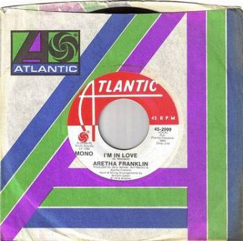 ARETHA FRANKLIN - I'M IN LOVE - ATLANTIC DEMO