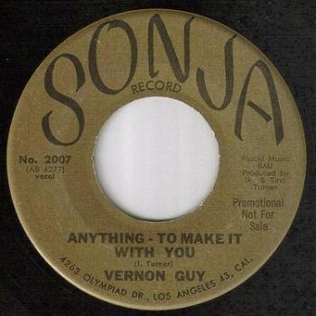 VERNON GUY - ANYTHING TO MAKE IT WITH YOU - SONJA DEMO