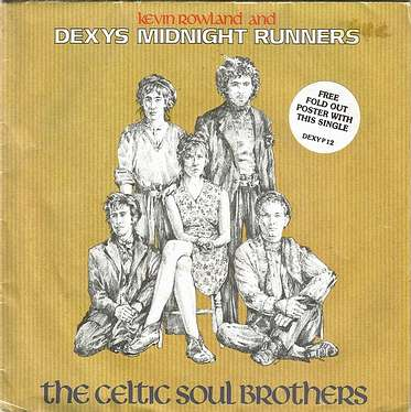 DEXYS MIDNIGHT RUNNERS - THE CELTIC SOUL BROTHERS - MERCURY
