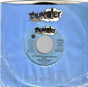 MICHAEL WALKER - I GOT THE NOTION, YOU GOT THE MOTION - THUNDER DEMO