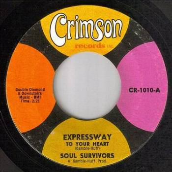 SOUL SURVIVORS - EXPRESSWAY TO YOUR HEART - CRIMSON