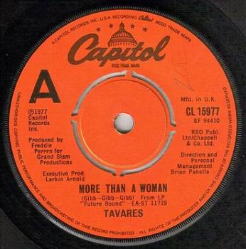 TAVARES - MORE THAN A WOMAN - CAPITOL
