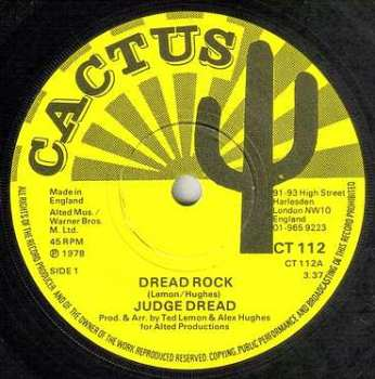 JUDGE DREAD - DREAD ROCK - CACTUS