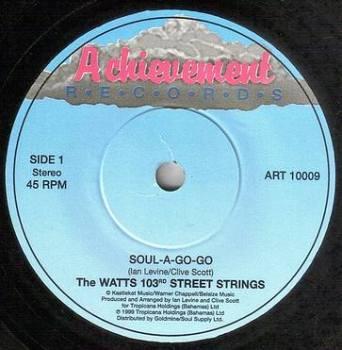 WATTS 103rd ST STRINGS - SOUL-A-GO-GO - ACHIEVEMENT