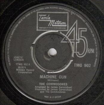 COMMODORES - MACHINE GUN - TMG 902