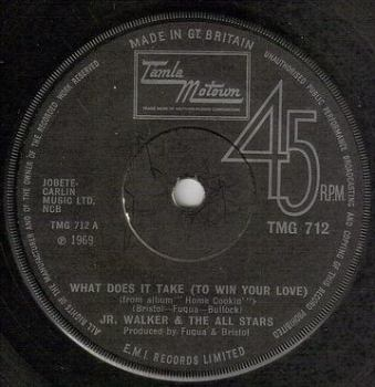 JR. WALKER & THE ALL STARS - WHAT DOES IT TAKE - TMG 712