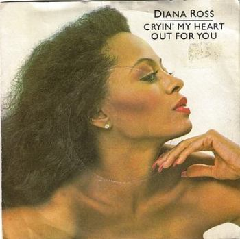 DIANA ROSS - CRYIN' MY HEART OUT FOR YOU - TMG 1233