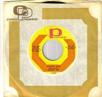RODDIE JOY - WALKIN' BACK - CAMEO PARKWAY