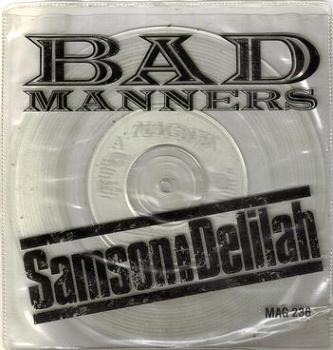 BAD MANNERS - SAMSON AND DELILAH - MAGNET
