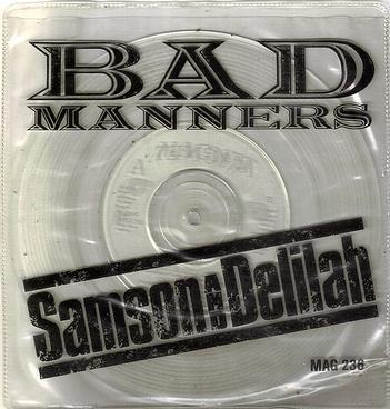 BAD MANNERS - SAMSON AND DELILAH - MAGNET