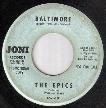 EPICS - BALTIMORE - JONI DEMO