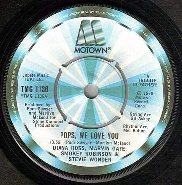 DIANA ROSS & VARIOUS ARTISTS - POPS WE LOVE YOU - TMG 1136