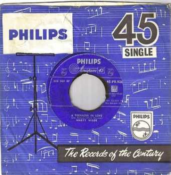 MARTY WILDE - A TEENAGER IN LOVE - PHILIPS