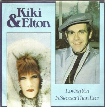 KIKI DEE & ELTON JOHN - LOVING YOU IS SWEETER THAN EVER - ARIOLA