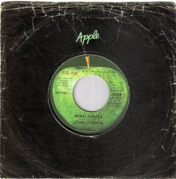 JOHN LENNON - MIND GAMES - APPLE