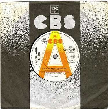 EARTH, WIND & FIRE - FALL IN LOVE WITH ME - CBS DEMO
