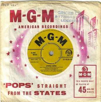 CONNIE FRANCIS - STUPID CUPID - MGM