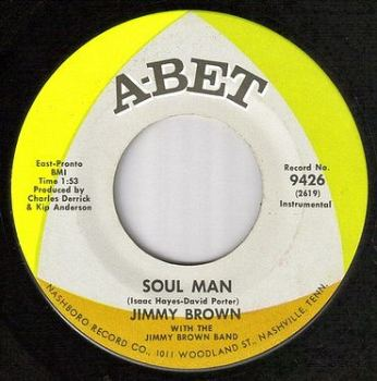 JIMMY BROWN - SOUL MAN - ABET