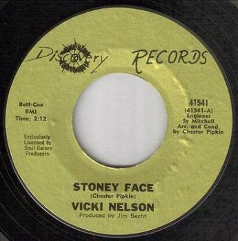 VICKI NELSON - STONEY FACE - DISCOVERY
