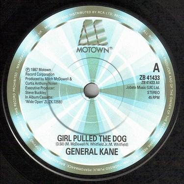 GENERAL KANE - GIRL PULLED THE DOG - MOTOWN 41433