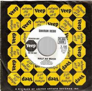 SHARON REDD - HALF AS MUCH - VEEP DEMO