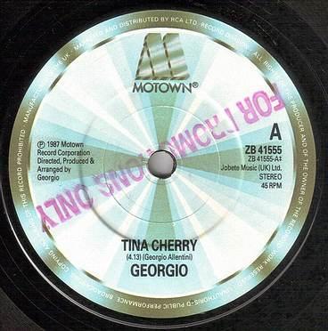 GEORGIO - TINA CHERRY - MOTOWN 41555