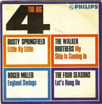 THE BIG FOUR - VARIOUS ARTISTS - PHILIPS EP