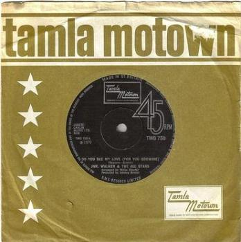 JR. WALKER & THE ALL STARS - DO YOU SEE MY LOVE - TMG 750