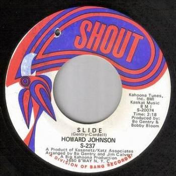 HOWARD JOHNSON - SLIDE - SHOUT