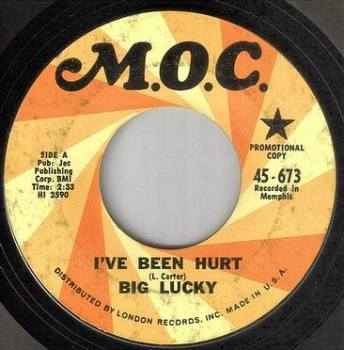 BIG LUCKY - I'VE BEEN HURT - M.O.C. DEMO
