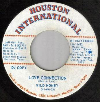 WILD HONEY - LOVE CONNECTION - HOUSTON INTER DEMO
