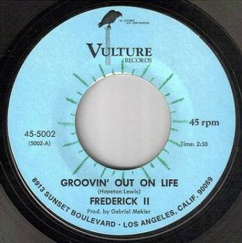 FREDERICK II - GROOVIN' OUT ON LIFE - VULTURE