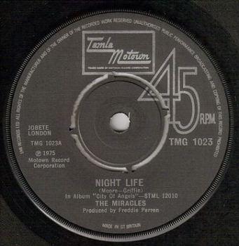 MIRACLES - NIGHT LIFE - TMG 1023