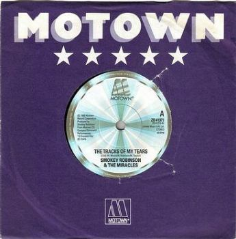 SMOKEY ROBINSON & THE MIRACLES - THE TRACKS OF MY TEARS - MOTOWN 41373