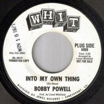 BOBBY POWELL - INTO MY OWN THING - WHIT DEMO