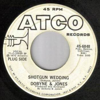 DOBYNE & JONES - SHOTGUN WEDDING - ATCO DEMO