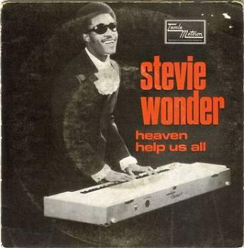 STEVIE WONDER - HEAVEN HELP US ALL - TAMLA MOTOWN