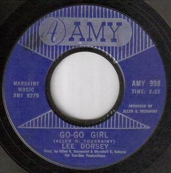LEE DORSEY - GO-GO GIRL - AMY