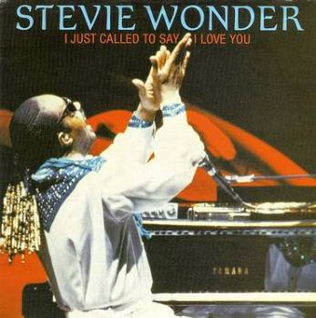 STEVIE WONDER - I JUST CALLED TO SAY I LOVE YOU - MOTOWN