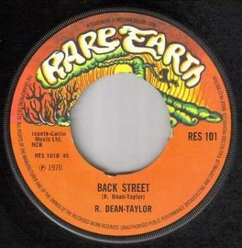 R. DEAN TAYLOR - BACK STREET - RARE EARTH