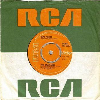 ELVIS PRESLEY - POLK SALAD ANNIE - RCA