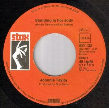 JOHNNIE TAYLOR - STANDING IN FOR JODY - STAX