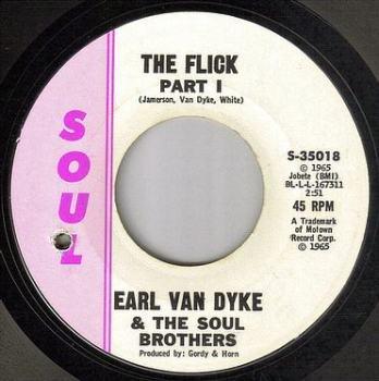 EARL VAN DYKE - THE FLICK - SOUL