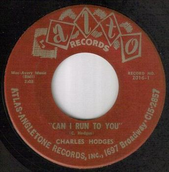 CHARLES HODGES - CAN I RUN TO YOU - ALTO