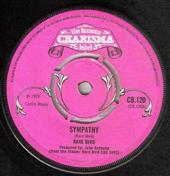 RARE BIRD - SYMPATHY - CHARISMA