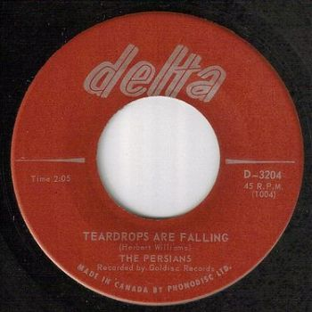 PERSIANS - TEARDROPS ARE FALLING - DELTA