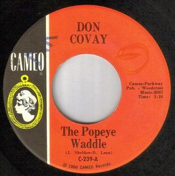 DON COVAY - THE POPEYE WADDLE - CAMEO