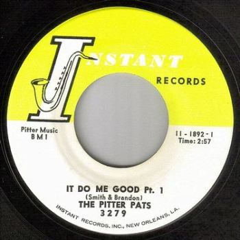PITTER PATS - IT DO ME GOOD - INSTANT