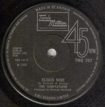 TEMPTATIONS - CLOUD NINE - TMG 707