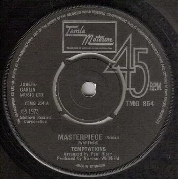 TEMPTATIONS - MASTERPIECE - TMG 854